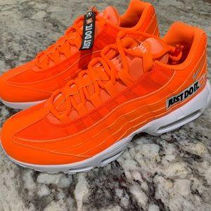 Nike Air Max 95 Just Do it Orange/White/Black